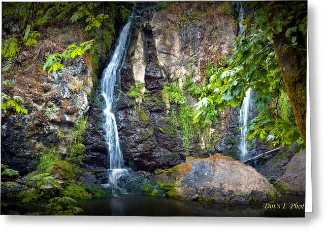 Sister Falls Greeting Card by Dorothy Hilde