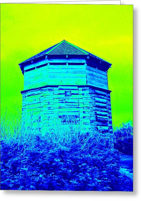 Sitka Russian Stockade Greeting Card by Randall Weidner