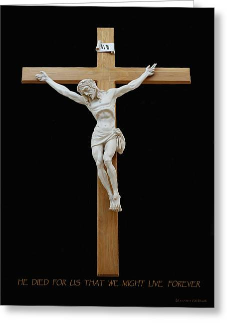 Sjncc Crucifix 1 Two K Eleven Greeting Card