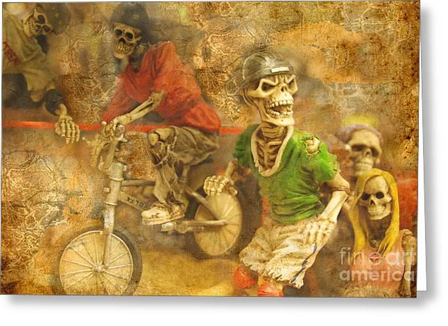 Skeleton Crew Greeting Card