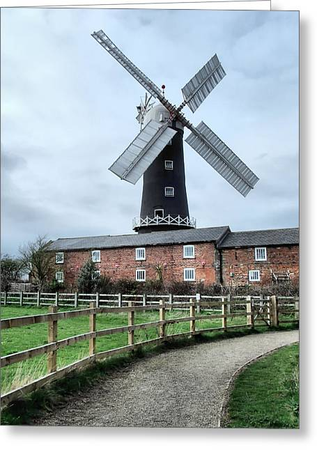 Skidby Windmill Greeting Card