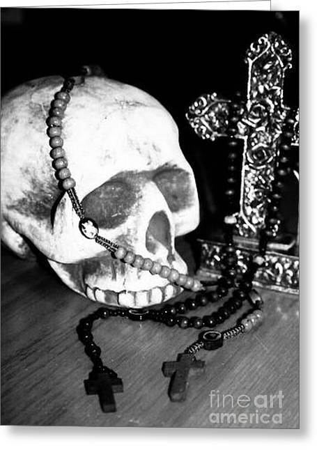 Skull 5 Greeting Card