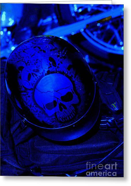 Skull Cap Greeting Card