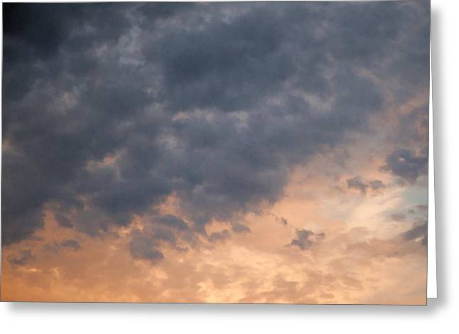 Greeting Card featuring the photograph Sky 1 by John Crothers