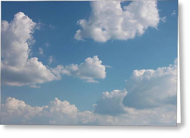 Sky Greeting Card by Alexa Alexandru-Michael