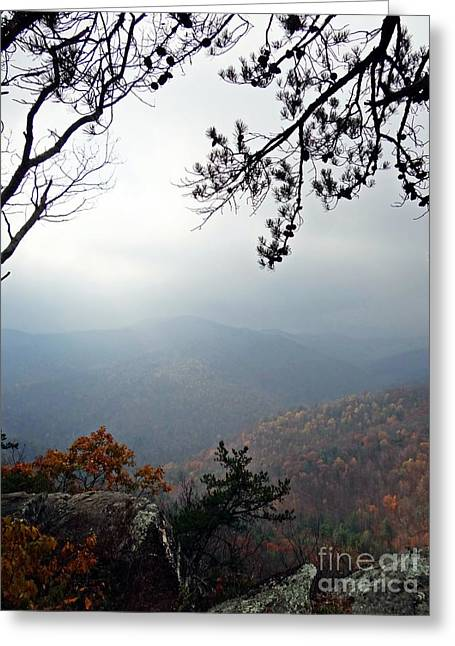 Skyline 3  Shenandoah National Park Greeting Card