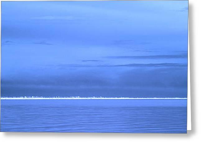 Greeting Card featuring the photograph Skyline Salton Sea by Hugh Smith