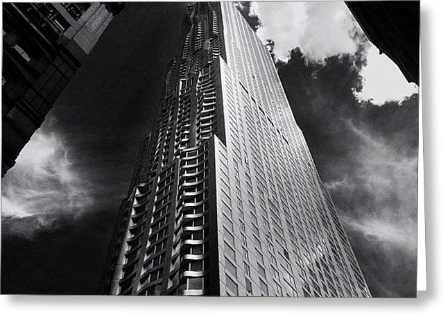 Skyscraper - New York City Greeting Card