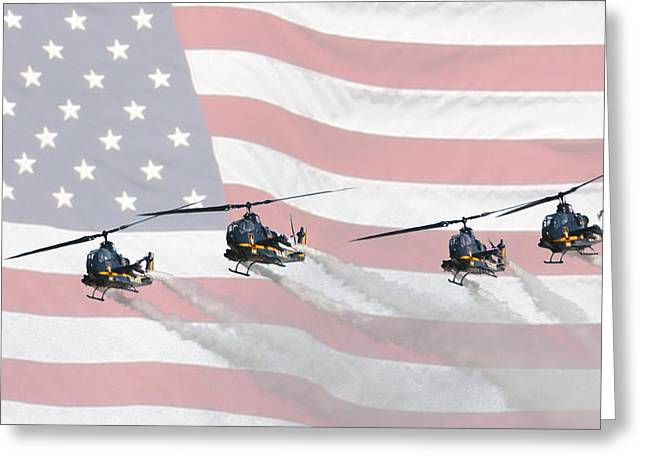 Skysoldiers Greeting Card