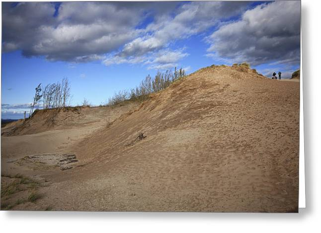 Greeting Card featuring the photograph Sleeping Bear Dunes by Patrice Zinck