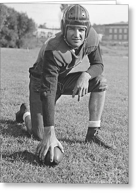 Slingin' Sammy Baugh 1937 Greeting Card