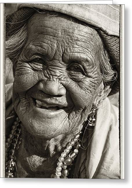 Smile Greeting Card by Skip Nall