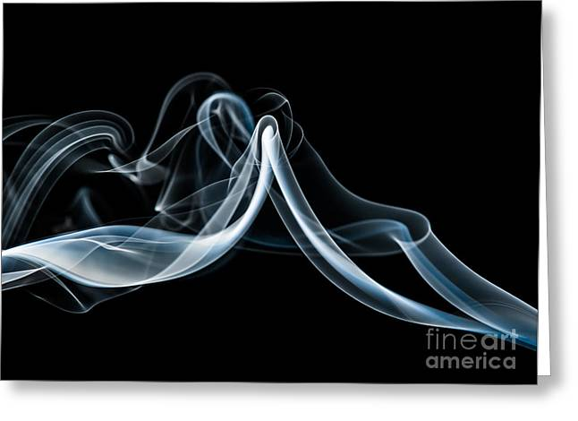 Smoke-1 Greeting Card
