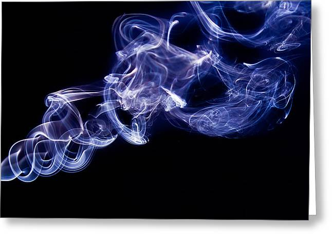 Smoke 11 Greeting Card by Dan Wells