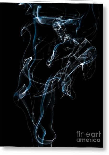 Smoke-6 Greeting Card