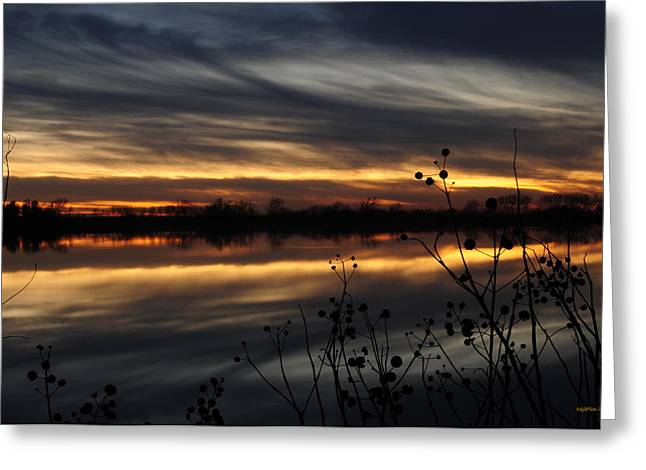 Smoke On The Water Fire In The Sky Greeting Card