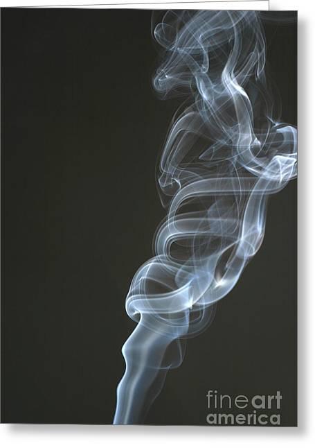 Smoke Greeting Card by Ted Kinsman