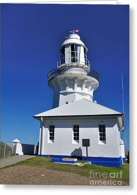 Smoky Cape Lighthouse Greeting Card