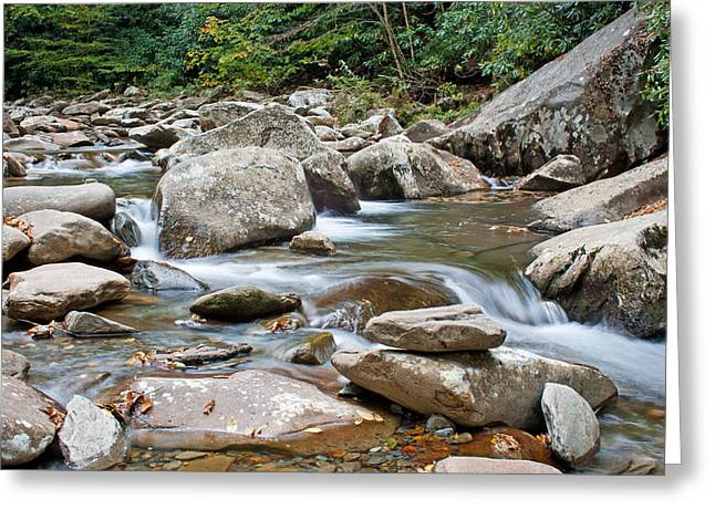 Smoky Mountain Streams Greeting Card