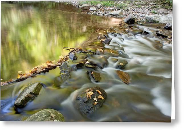 Smoky Mountain Streams Iv Greeting Card