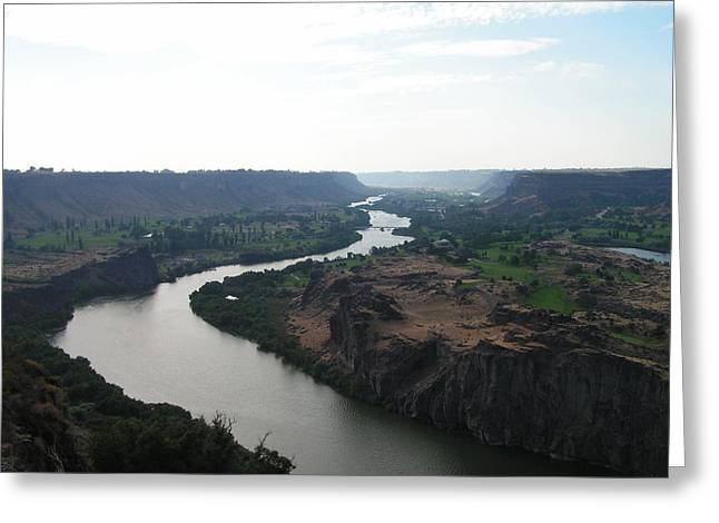 Greeting Card featuring the photograph Snake River Mysteries by Rand Swift