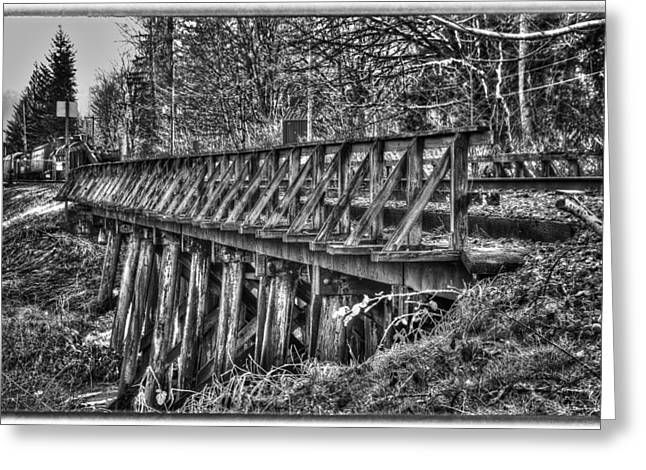 Snoqualmie Trestle Greeting Card by Scott Massey