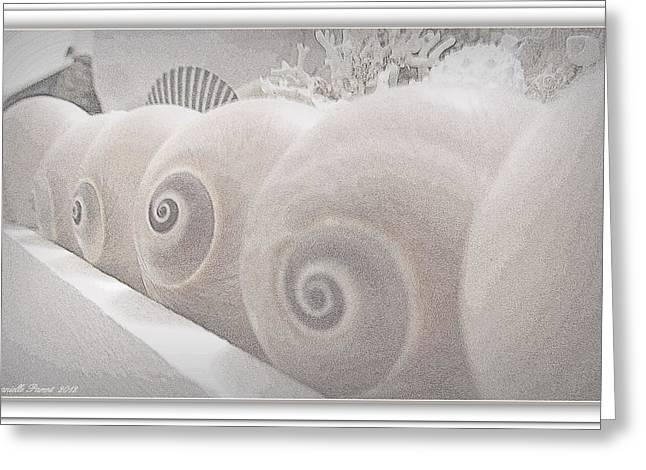Snow Babies Greeting Card
