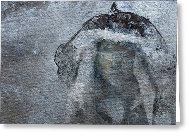 Snow Maiden Greeting Card