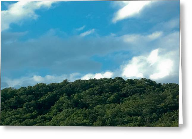 Soaring Above The Mountaintop Greeting Card