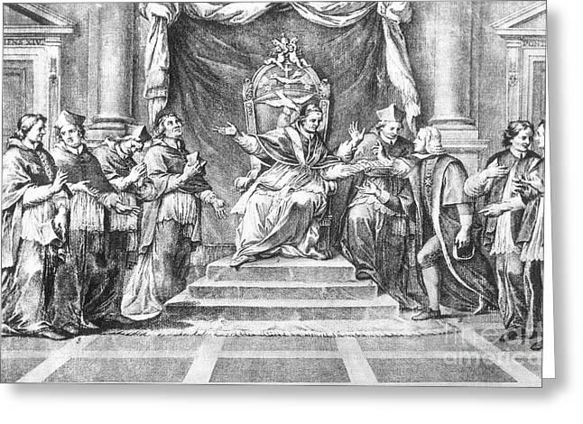 Society Of Jesus, 1773 Greeting Card