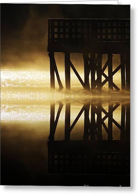Soddy Pier Greeting Card by Steven Lebron Langston