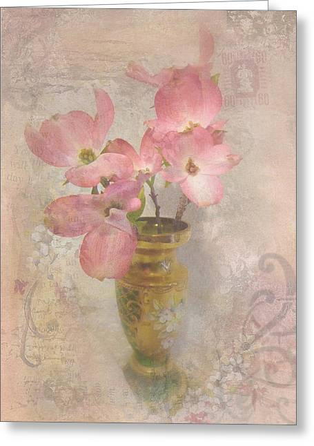 Softly Blooming Greeting Card by Cindy Wright