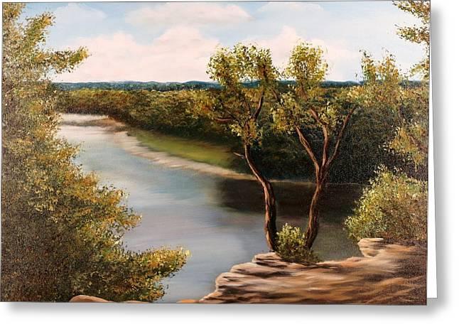 Solado Creek Greeting Card by Patti Gordon