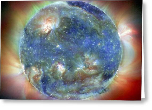 Solar Corona Greeting Card