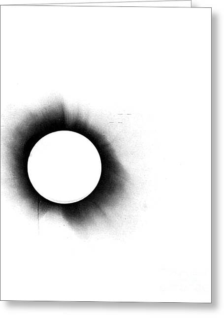 Solar Eclipse, 1919, Negative Image Greeting Card