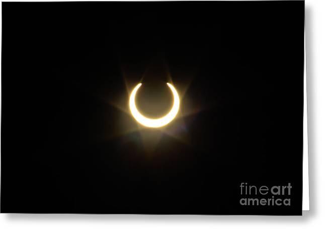 Solar Eclipse 5 Greeting Card by Mitch Shindelbower