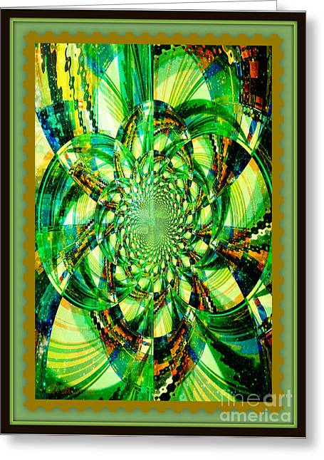 Solar Explosion Greeting Card