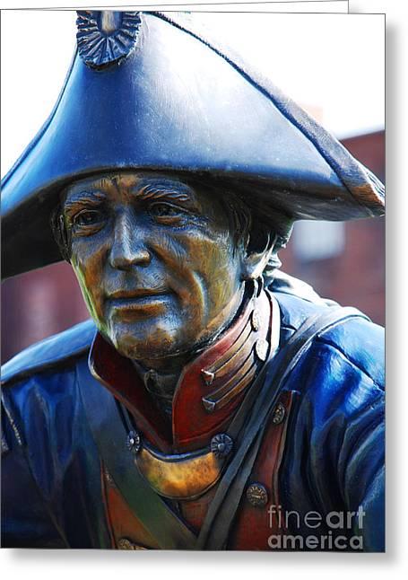 Soldier Sculpture In Paducah Ky Greeting Card by Susanne Van Hulst