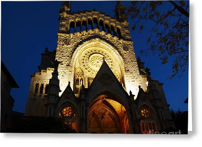 Soller Cathedral Greeting Card