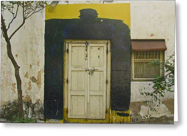 Greeting Card featuring the photograph Somebody's Door by David Pantuso