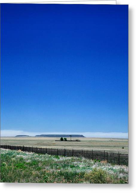 Greeting Card featuring the photograph Somewhere On Hwy 285 Number One by Lon Casler Bixby