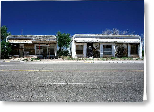 Greeting Card featuring the photograph Somewhere On Hwy 285 Number Two by Lon Casler Bixby