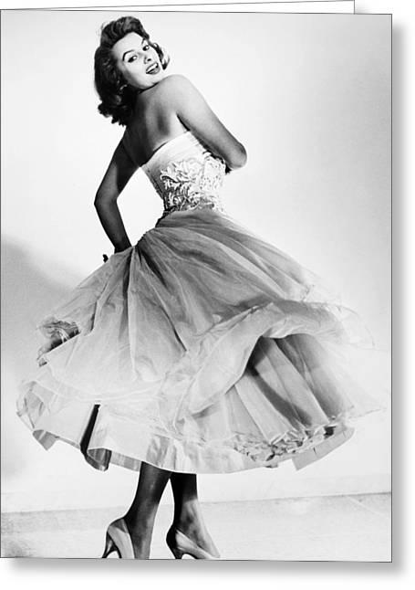 Sophia Loren (1934-  ) Greeting Card by Granger