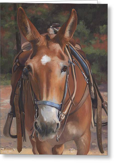 Sorrel Mule Greeting Card