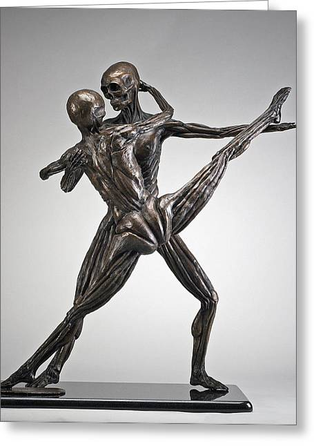 Soul Dance - Front View Greeting Card by Eduardo Gomez