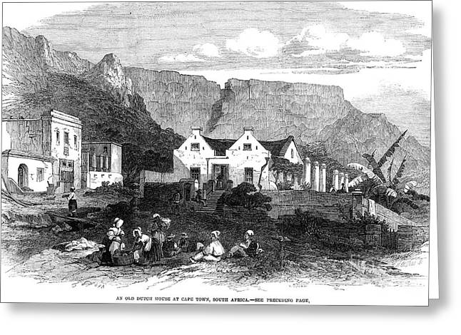 South Africa: Boers, 1864 Greeting Card by Granger