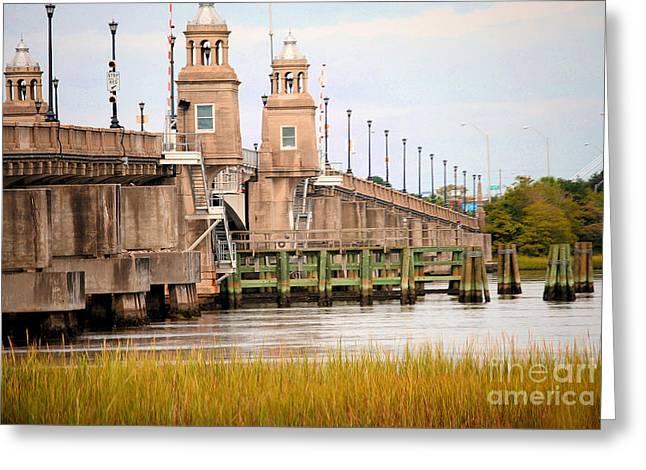 Greeting Card featuring the photograph South Carolina Bridge by Tamera James