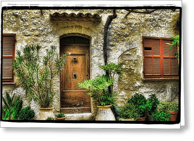 South Of France 1 Greeting Card by Mauro Celotti