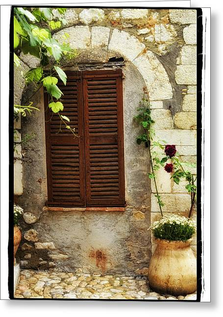 South Of France Greeting Card by Mauro Celotti