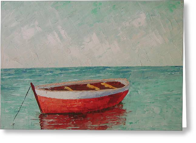 South Of France Saint Tropez Greeting Card by Frederic Payet